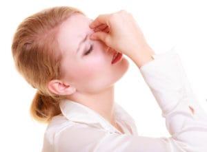 Zatokowy ból głowy